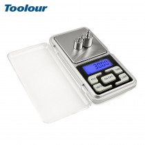 Toolour 500gx0.01g Mini Pocket Digital Electronic Scale for Gold Sterling Silver Jewelry Scales LCD Display Units Balance Tool