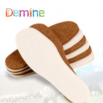 10Pcs Warm Wool Insoles Soft Shoes Inserts Fur Pads Thermal Heated Insoles Winter Comfortable Snow Boots Shoes Insoles