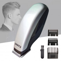 Electric Hair Clipper Mini Hair Trimmer Portable Hair Cutting Machine with Limit Comb Beard Barber Razor for Men Style Tools 35D
