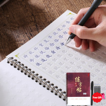 3D Chinese Characters For Kids Reusable Groove Calligraphy Copybook Erasable Pen Learn Hanzi Adults Art Writing Books