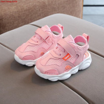 HaoChengJiaDe Girls Brands Summer Sandals Children Soft Sole Beach Sandals 1-5 Years Old Baby Anti-slip Cute Shoes For Toddlers