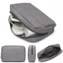 HOT Travel Digital Storage Bags Portable Digital USB Cable Charger Earphone Cosmetic Pouch Storage Organizer Bag Case