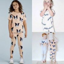 Summer Children's Clothing Sets Girl Boy Sports Suit Baby Clothes Sets for children pajamas sets for boys clothes for kids ST293