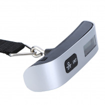 Hook Belt Scale 50kg/110lb LCD Digital Electronic Scale For Travel Suitcase Luggage Hanging Scales Weighing Hand Held