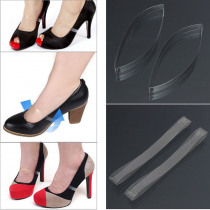 1Pair Elastic Silicone Invisible Shoelaces Clear Shoe Laces Shoelace Straps For High Heel Transparent Shoes Accessories