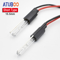 """35W 15.5mm Short Type Special Xenon Bulb for 2"""" or 2.5"""" Hid Projector Lens 12V/6000k Lamp Car Motorcycle Headlight Retrofit"""