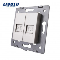 Manufacture Livolo,Wall Socket Accessory, module of Telephone and data internet Socket / Outlet