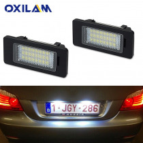 2x Error Free Car LED License Number Plate Light For BMW E39 E60 E90 E92 E93 M3 E91 E61 E39 E70 E71 E82 E88 X6 X5 1 3 5 Series