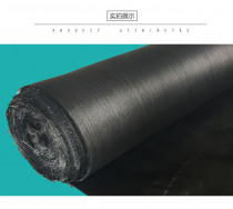 160g Black glass fiber cloth ,fireproof retardant, heat and cold insulation, anti-corrosion insulation material. Moisture proof.