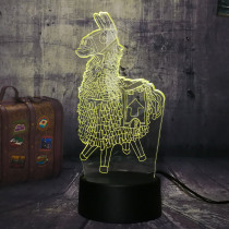 NEW Wooden Horse Chest Battle Royale Game TPS PUBG Desk Lamp 7 Color 3D LED Night Light Boy Child Christmas Gift Home Decor Lava