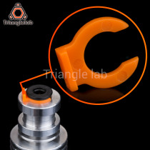 trianglelab Collet Clips for bowden tube collet  for E3D heatsink hotend 3D printer access 1.75 mm filament Bowden Collet Clips