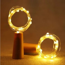 2M LED Garland copper wire Corker string fairy lights for glass bottle craft New Year / Christmas / Valentine wedding decoration