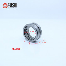 RNA4902 Bearing 20*28*13 mm ( 2 PCS ) Solid Collar Needle Roller Bearings Without Inner Ring 4624902 4644902/A Bearing