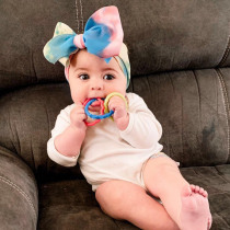 Baby Headband Bow Head Wrap Baby Haarband Blumen Diy Baby Girl Headbands Newborn with Bows Newborn Baby Turban Headband