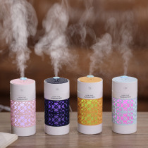 Lucky Cup Humidifier USB Ultrasonic Aroma Diffuser 3 in 1 mini Essential oil Diffuser with LED light USB fan for Car Humidifiers