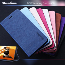 Pu Leather Phone Case For Samsung Galaxy A30 Flip Book Case For Samsung Galaxy A20 Business Case Soft Tpu Silicone Back Cover