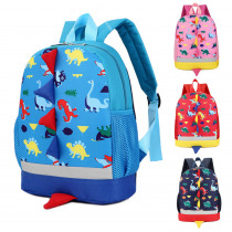 Fashion Baby Boys Girls Kids Dinosaur Pattern Animals Backpack Toddler School Bag Outdoor bag for 2019