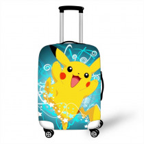 18-32 Inch Pokemon Bulbasaur Suitcase Cover Travel Luggage Suitcase Protector for Boys Girls Trolley Durable Protective Cover