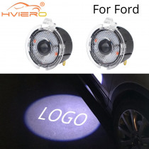 2X Welcome Light for Ford Rear View Mirror Laser Projector LED Photo Logo Lamp Car Door Auto Lamp Light Dc 12V