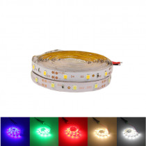 3m 5m individually addressable rgb led strip neon light 2835 LED ribbon Flexible tape auto adapter 12v dc connectors  for kitche
