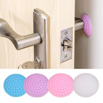 5/3/1Pcs/Lot Protection Baby Safety Shock Absorbers Security Card Rubber Door Stoppers Wall Protectors Door Handle Bumpers