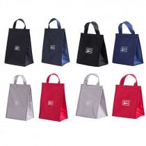 Portable Fashion Oxford cloth Insulated Thermal Cooler Lunch Box Carry Tote Storage Bag Travel Picnic