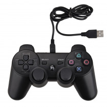 NEW USB Wired gamepad For PS3 Controller for Dualshock 3 for Sony Playstation 3 game console for PC/Play station 3/PS 3 joystick