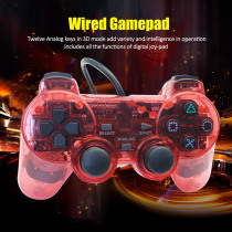 Wired Gamepad for Sony PS2 Controller Joystick for plasystation 2 Double Vibration Shock Joypad Wired Controle