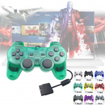 Gamepad for Sony PS2 Controller For Playstation 2 Console Joystick Double Vibration Shock Joypad Controle Replacement
