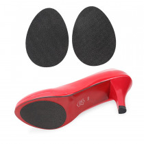 2 Pairs Anti-Slip insoles Protector Pads Self-Adhesive Non-Slip Cushion Adhesive Shoes Heel Sole Protector Rubber Pads Cushion