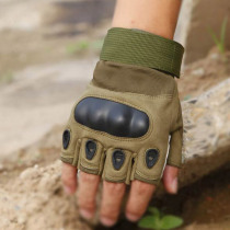 High Quality Men Women Half Finger Military Knuckle Protect Gloves Outdoor Hiking Fishing Hand Protect Workplace Safety Supplies