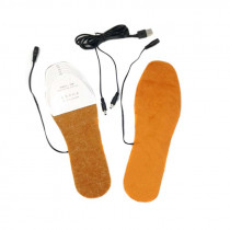 USB Electric Heated Insoles Shoes Boots Foot Feet Warmer Pad Cushion BS88