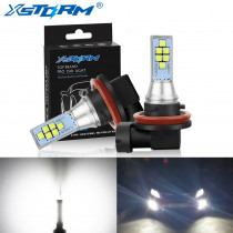 2Pcs H8 H11 Led Canbus 9006 HB4 9005 HB3 H16 5202 PSX24W Led Bulb Car Fog Light 1400LM 6000K White 12V 24V DRL Auto Lamp Bulbs