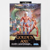 Golden Axe Game Cartridge 16 bit MD Game Card With Retail Box For Sega Mega Drive For Genesis