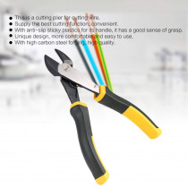 TNI-U TU-2202 200mm Diagonal Pliers Cutter Cutting Copper Cable Wire Repair Clamp DIY Electronic Hand Tool Shear Snips Nippers