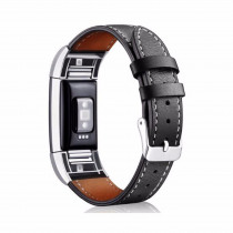 leather strap for fitbit charge 2 band leather Bracelets Replacement wristband Smart Watch Band for fitbit charge 2 women Men