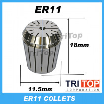 High precision ER11 Accuracy 0.005mm Spring Collet  For CNC Milling Machine Engraving Lathe Tool Free Shipping