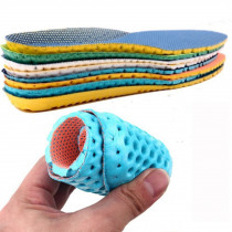 1 Pair Unisex Shoes Insoles Orthopedic Memory Foam Sport Arch Support Insert Women Men Summer Breathable Soles Pad