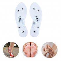 1 Pair Women Men Silicone Insole Magnetic Therapy Anti Fatigue Health Care Massage Insoles New
