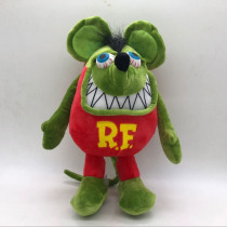 30cm Anime Cartoon Tales of The RAT FINK 12Inches GREEN ED BIG DADDY PLUSH RF Plushies DOLL Mouse Fink Plush Toys