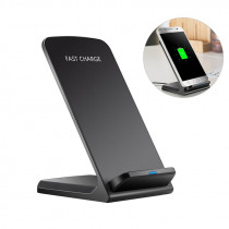 Qi Wireless Charger Stand Quick Charge 2.0 Charging Charger As Mobile Phone Stand Support For Samsung Galaxy S9/8/7 IPhone X/8
