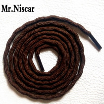 Mr.Niscar 2 Pair New Style Outdoor Round Crude Climbing Shoelaces Wear Rough Sport Leisure Polyester Strong Shoe Laces Strings