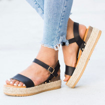 Women Sandals Casual Wedges Shoes For Women Platform Sandals Espadrilles Summer Shoes Woman Peep Toe Heels Sandals Zapatos Mujer