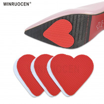 WINRUOCEN Rubber Non-slip Self-Adhesive Shoes Mat High Heel Sole Protector Pads  Insole Forefoot High Heels Sticker