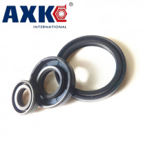 AXK 40x62x6/7/8/9/10/11/12 Nitrile Rubber NBR Double Lip Spring TC Ring Gasket Radial Shaft Skeleton Oil Seal