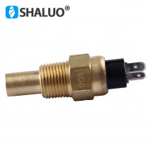 17mm VDO Diesel Engine Water Temperature Sensor 120C alarm transmition brass electronic generator sensor diesel genset part