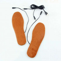 USB Electric Heated Insoles Shoes Boots Foot Feet Warmer Pad Cushion WML99