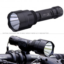 Led Flashlight for bicycle lantern xml T6 L2 high power bike lamp waterproof tactical police torch 18650 battery rechargeable