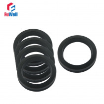 UPH Hydraulic Cylinder Seal 6.3x16.3x8mm NBR Hydraulic Piston Seal Ring for Oil Cylinder Dust-proof 25x35x8/30x40x8mm Oil Seal
