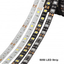 5050 Led Tape RGB Strip Light Waterproof 220V To DC 12V 5M 300 Led Stripe Flexible Strip Lights Neon Ribbon Warm White/Blue/RGBW
